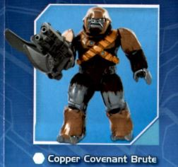 Halo Mega Bloks Series 4 Copper Covenant Brute