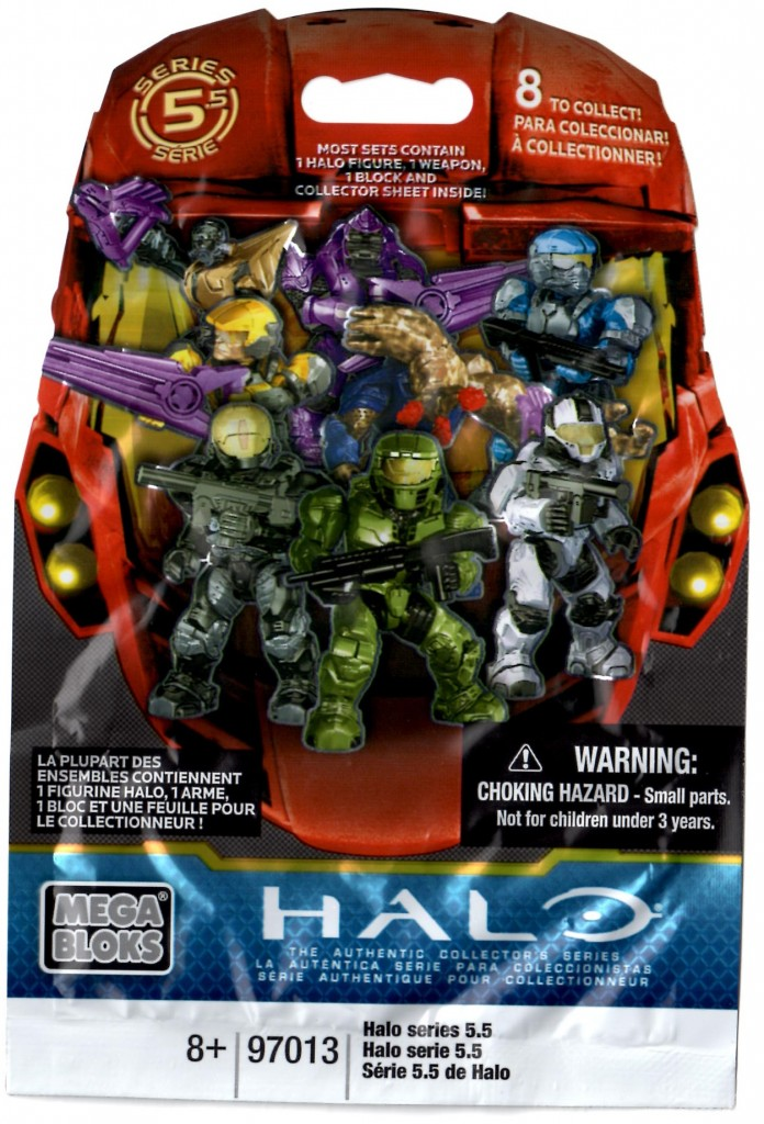Halo Mega Bloks Series 5.5 mystery bag